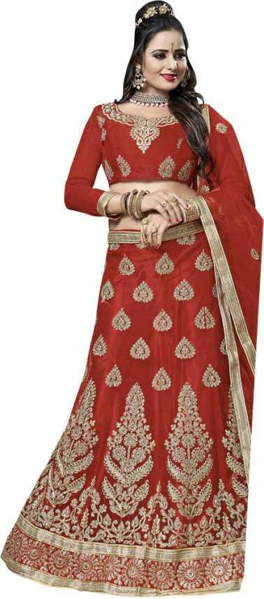 94ebc9d0da8 Zainab Chottani Embroidered Semi Stitched Lehenga, Choli and Dupatta ...