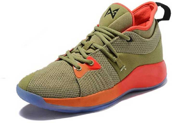 competitive price 8719b 271e6 The Paul George 2 ''Army Green'' Basketball Shoes For Men ...