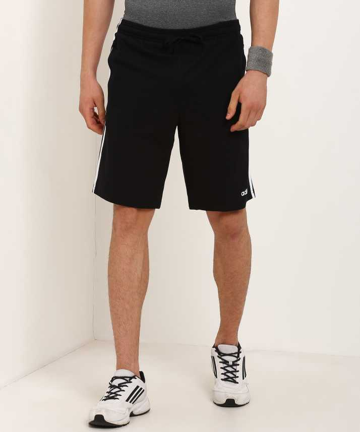 ADIDAS Solid Men Black Sports Shorts Buy ADIDAS Solid Men