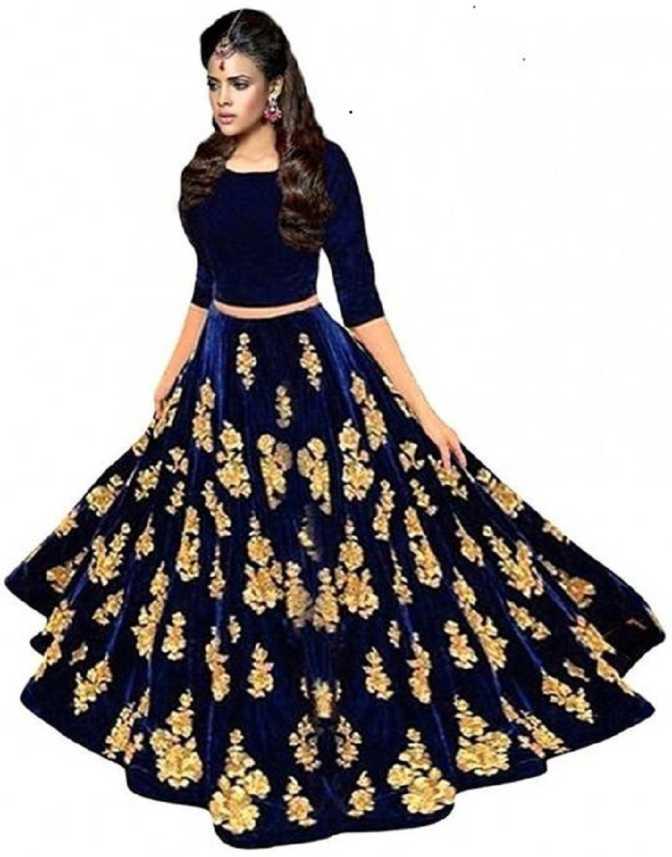 6eeb40922f F Plus Fashion Embroidered Semi Stitched Lehenga Choli - Buy F Plus Fashion Embroidered  Semi Stitched Lehenga Choli Online at Best Prices in India ...