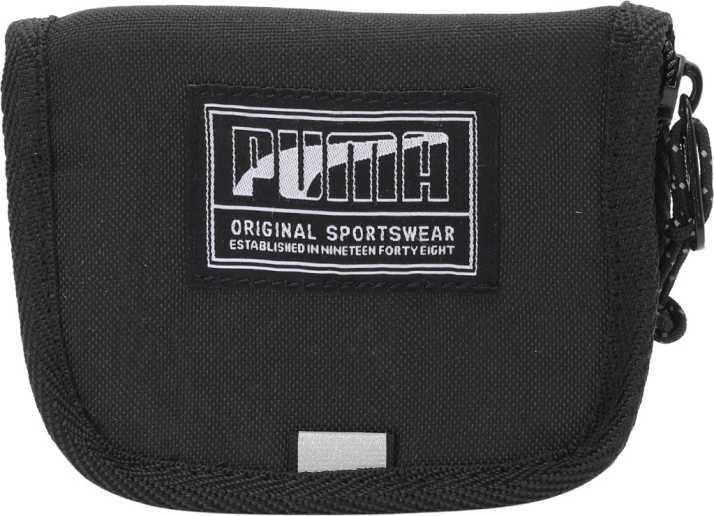 bc6887759eb Puma Men Black Genuine Leather Wallet Black - Price in India | Flipkart.com