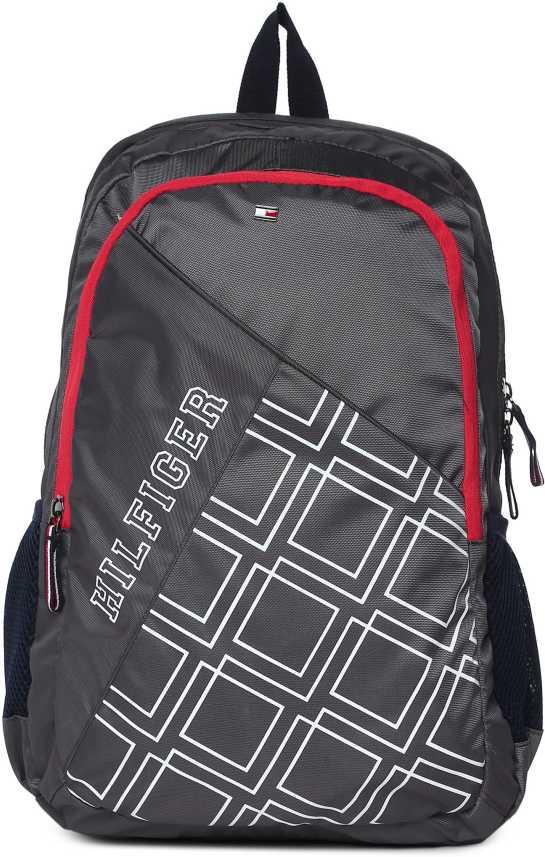 c82fd87f Tommy Hilfiger SMYRNA 25 L Laptop Backpack Grey - Price in India | Flipkart .com