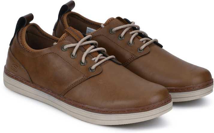 Skechers Heston Rogic 65877 Tan – Frames Footwear