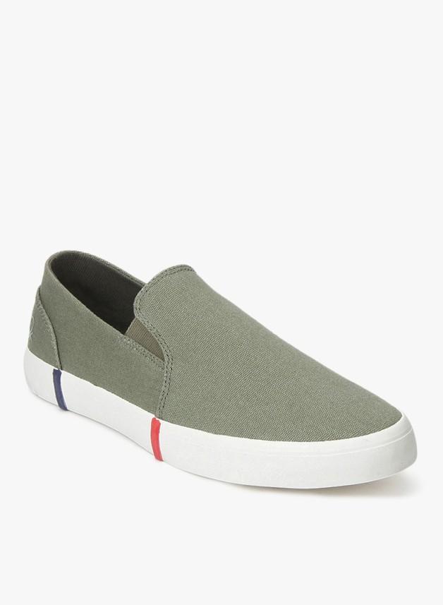 Benetton Slip On Sneakers For Men