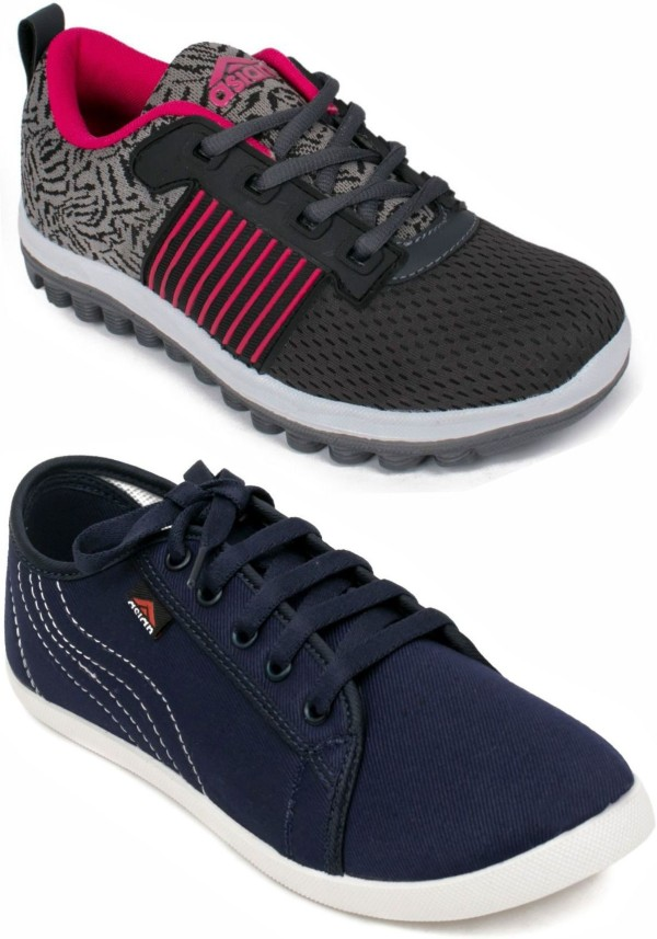Asian Multicolor sports Shoes, casual