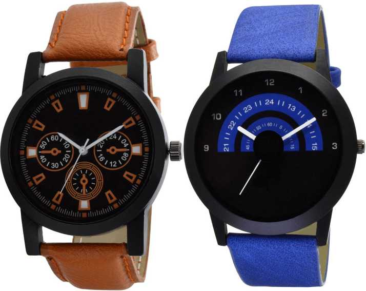 Opulent Arena O 6 27 Analogue New Stylish Multicolor Dial Watch For Men S Boys Pack Of 2 Analog Watch For Men Buy Opulent Arena O 6 27 Analogue New Stylish Multicolor Dial Watch