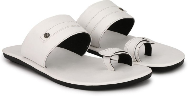 BIG FOX Men White Sandals - Buy BIG FOX