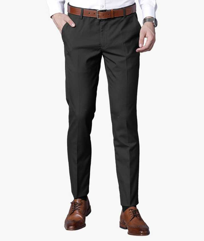 91dc40a7c6e Black Coffee Slim Fit Men Green Trousers - Buy Black Coffee Slim Fit Men  Green Trousers Online at Best Prices in India | Flipkart.com