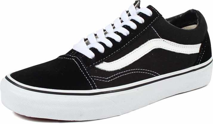 marque célèbre vente officielle original à chaud Vans old skool Noir Black Casuals For Women - Buy Vans old ...