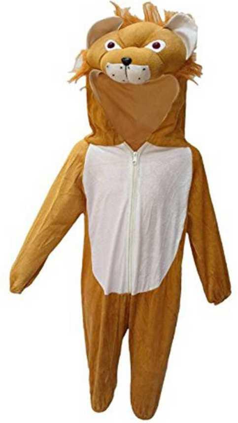 Unique Kids Fancy Dress Lion Babbar Sher Animal Dress Kids