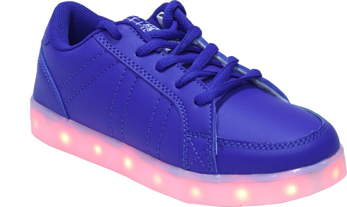 FEETWELL Boys Lace Sneakers Price in