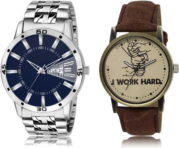 AD Global 102-29 New Latest Designer Combo of 2 Analog Watch - For Men -  Buy AD Global 102-29 New Latest Designer Combo of 2 Analog Watch - For Men  102-29 Online at Best Prices in India | Flipkart.com