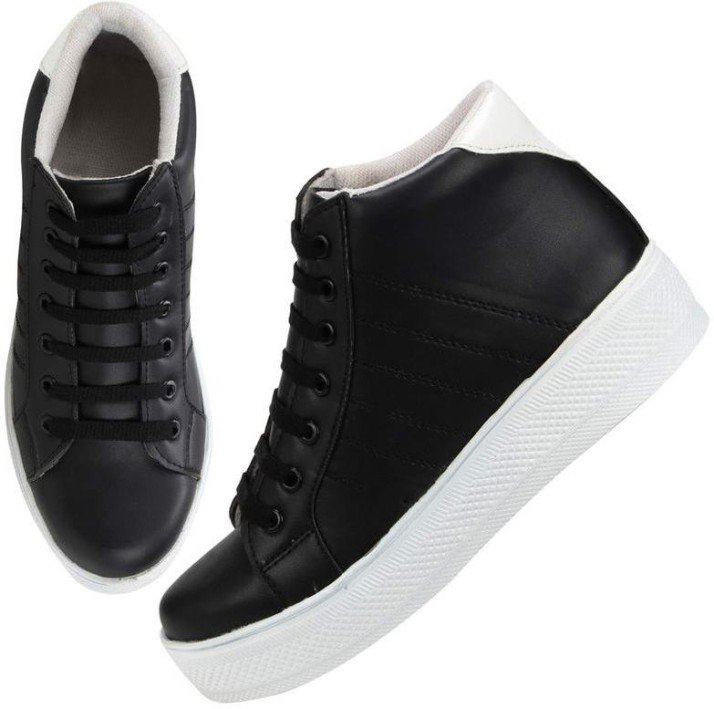 Saheb High Ankle Sneakers For Women