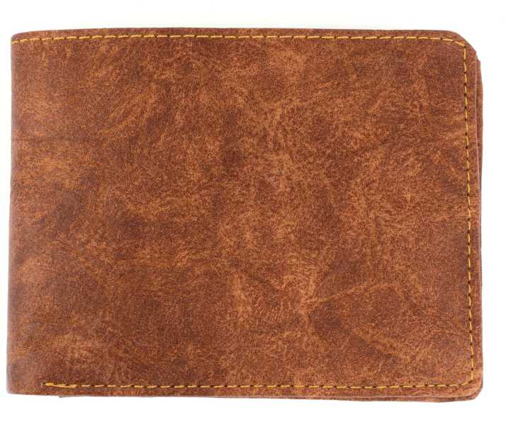 a9f041a28cc Catchy Men Tan Genuine Leather Wallet Tan - Price in India ...