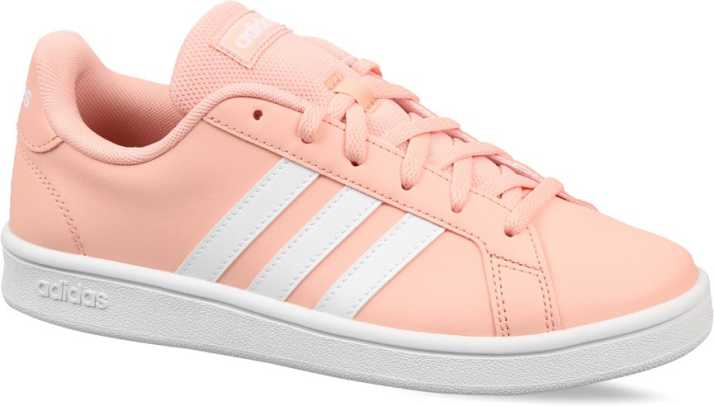 Scarpe 2018 come serch offerte esclusive ADIDAS GRAND COURT BASE Tennis Shoes For Women - Buy ADIDAS GRAND ...