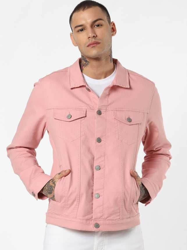 new cheap sale online lowest price Jack & Jones Full Sleeve Solid Men Denim Jacket