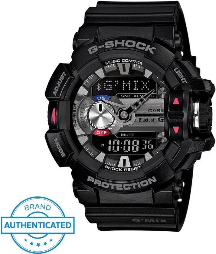 d6fb62e047 Casio G556 G-SHOCK Bluetooth G'Mix Analog-Digital Watch - For Men