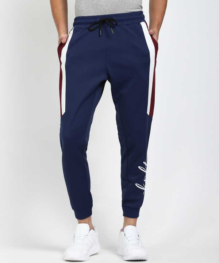 SKULT by Shahid Kapoor Solid Men Blue Track Pants - Buy SKULT by