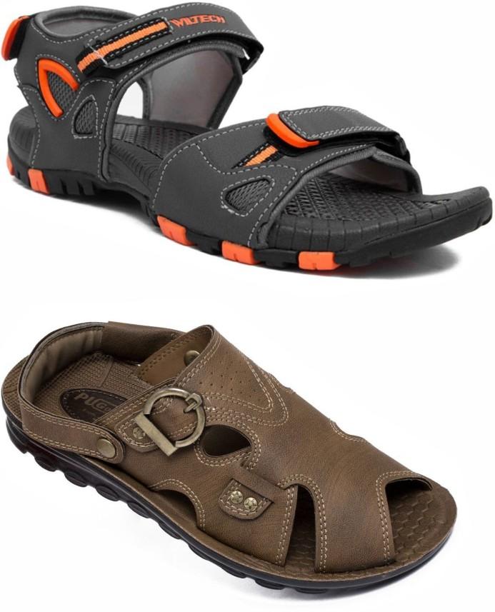 Asian Men Multicolor Sandals - Buy