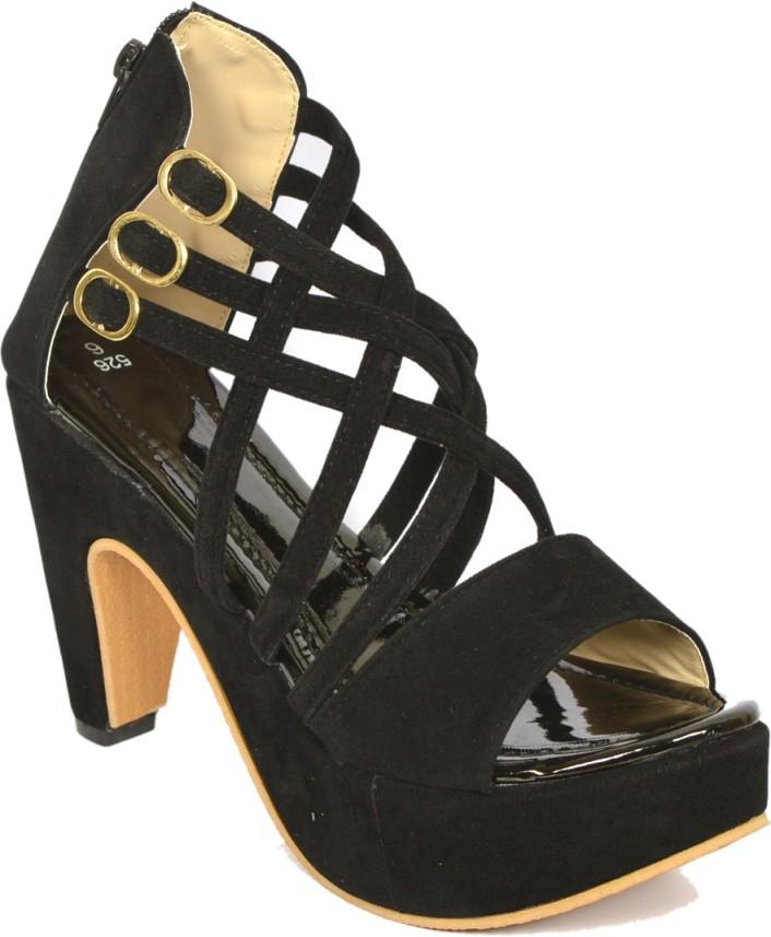 Ragle Footwear Women Black Heels - Buy