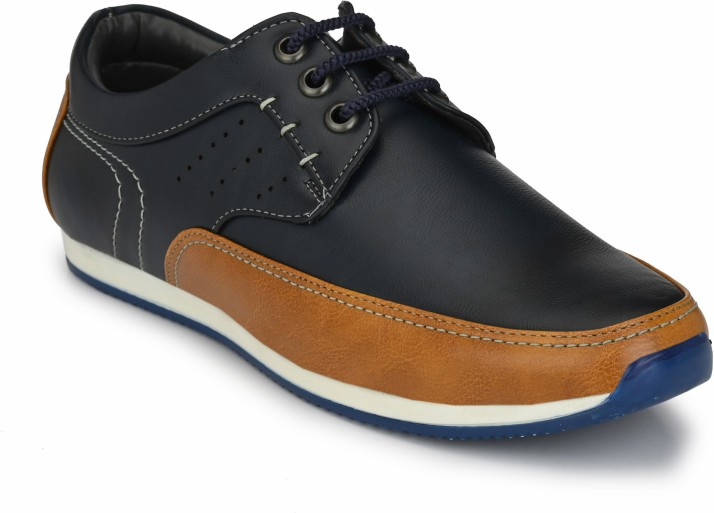 Levanse Synthetic Leather Casual Shoes
