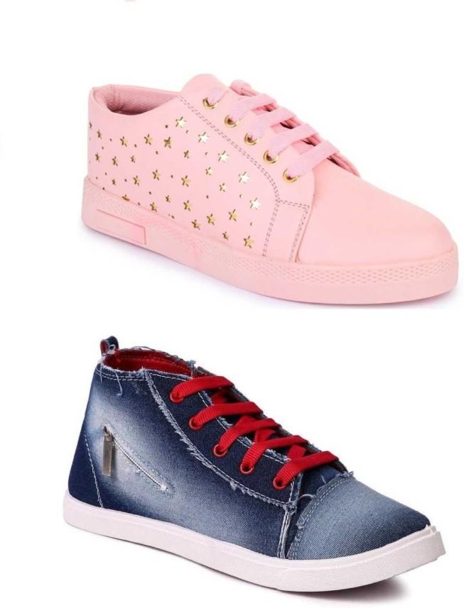 JIANSH Girls Parfect Combos Casual Shoe