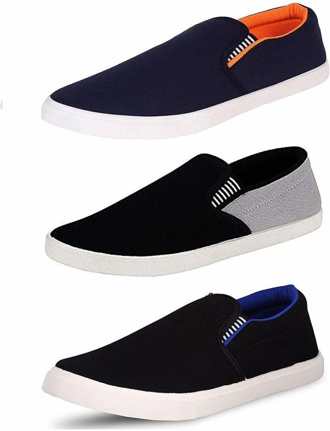 MOVEFLEX Slip On Sneakers For Men - Buy