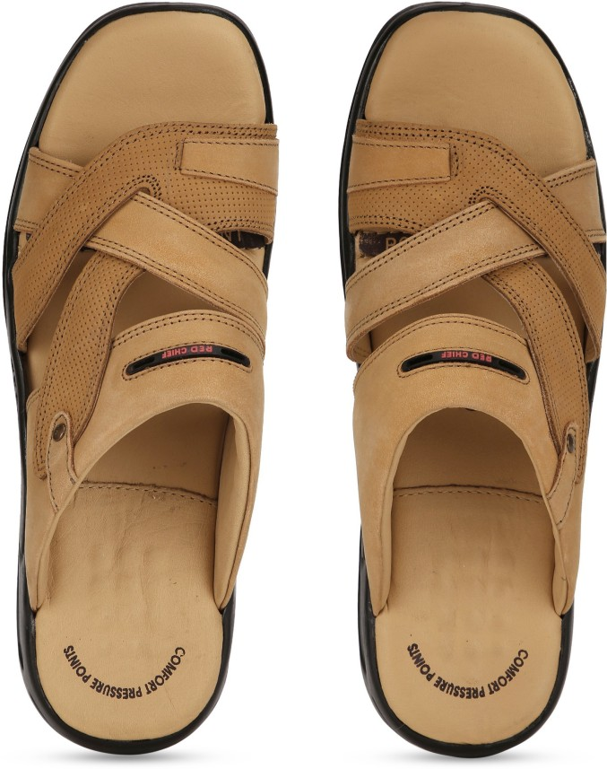 Red Chief Men Brown Flats - Buy Red