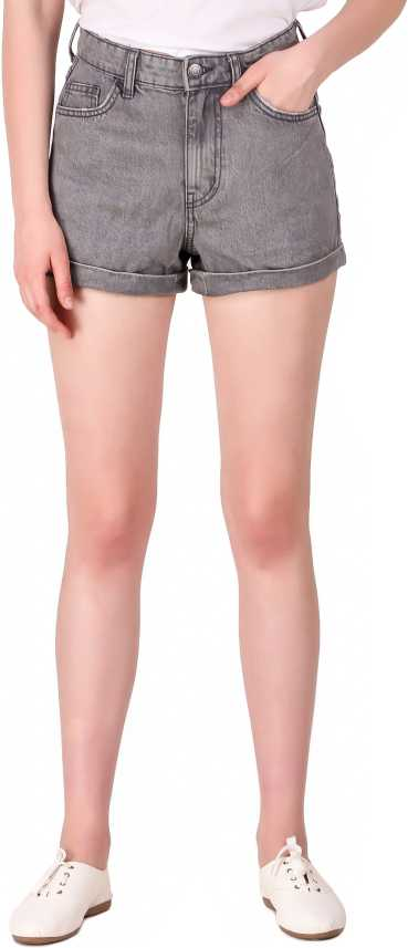 Snugg Fit Solid Women Denim Grey Denim Shorts Buy Snugg Fit Solid Women Denim Grey Denim Shorts Online At Best Prices In India Flipkart Com You'll look cool, contemporary and confident stepping out in a pair of modern jeans shorts featuring luxe denim fabrics, statement hems and flattering fits. flipkart