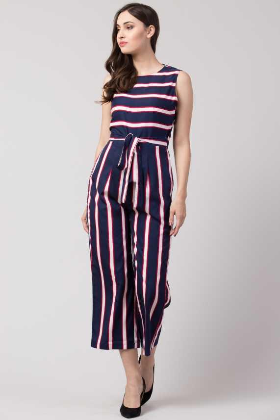 Slenor Striped Women Jumpsuit - Buy Slenor Striped Women Jumpsuit Online at  Best Prices in India | Flipkart.com