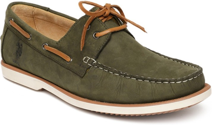 U.S. Polo Assn. Boat Shoes For Men