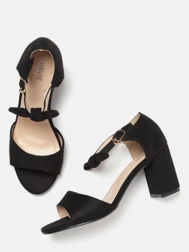 Lavie Women Black Heels - Buy Lavie