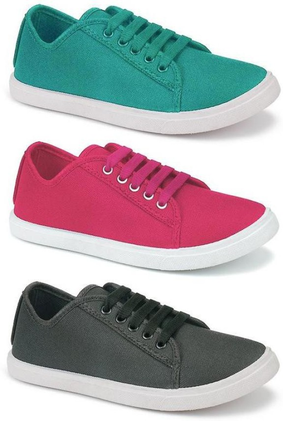 Aura Combo Pack of 3 Casual Shoes