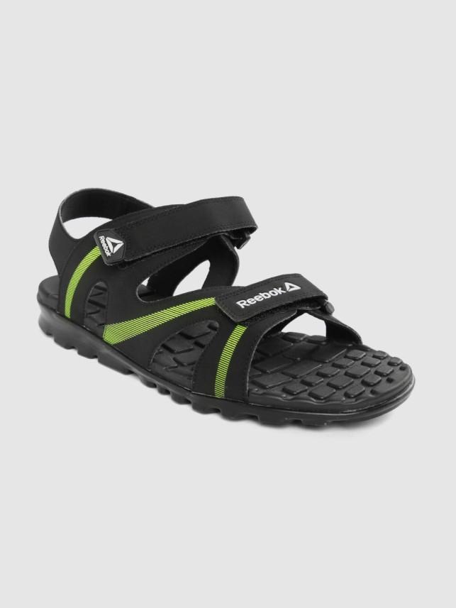 REEBOK Men Black Sandals - Buy REEBOK