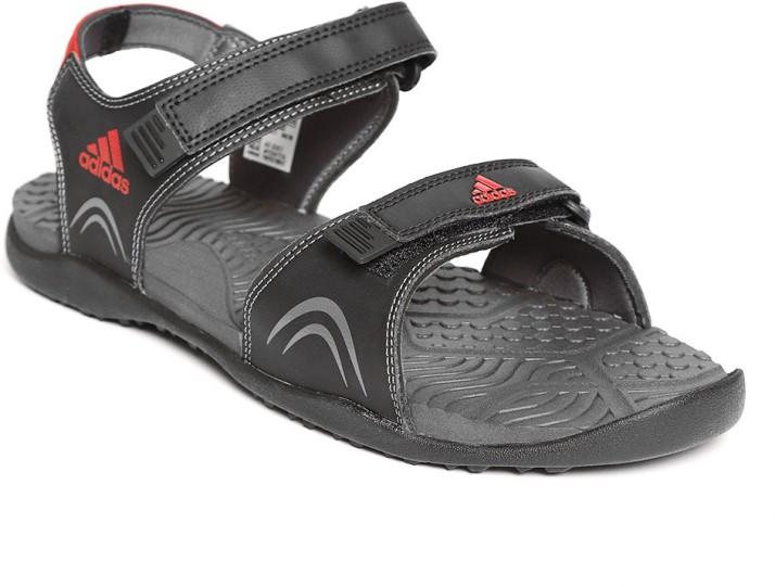 ADIDAS Men Black Sports Sandals - Buy