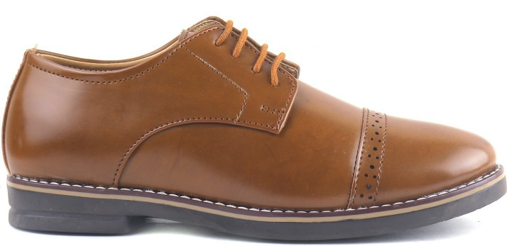J-10 Boys Lace Oxford Shoes Price in