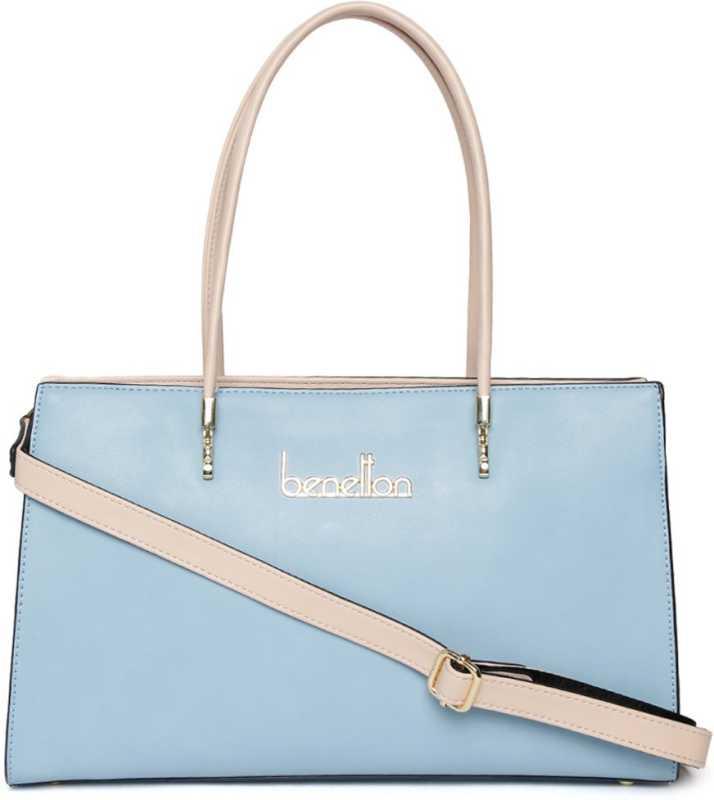 Benetton Women Blue Shoulder Bag