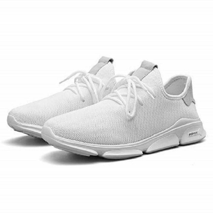ZOOMCLUB Men's White Shoes | Casual