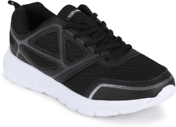 Black Lace Up Shoes Running Shoes