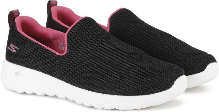 Shop Skechers Womens Go Walk 4 Convertible Black Size 8