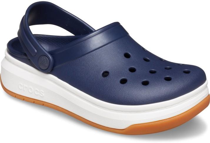 Crocs Men Blue Sandals - Buy Blue Color