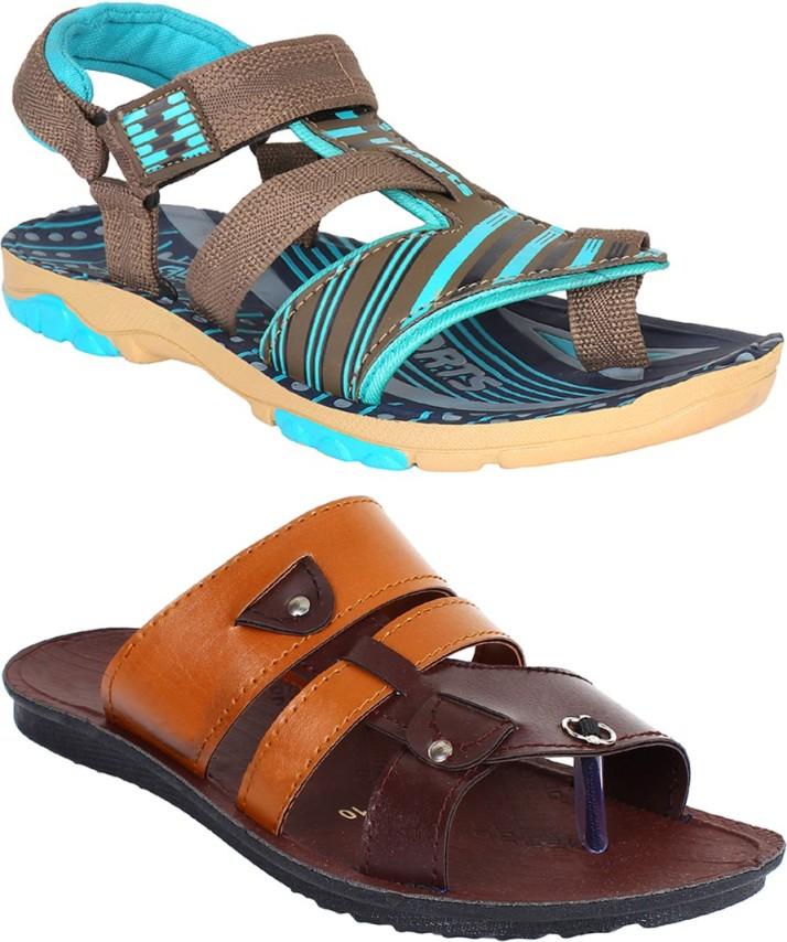 Swiggy Men Multicolor Sports Sandals