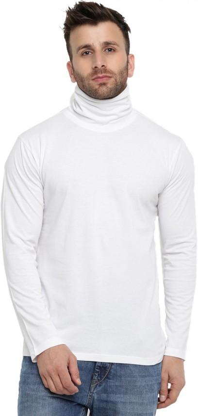 high neck t shirt for mens online
