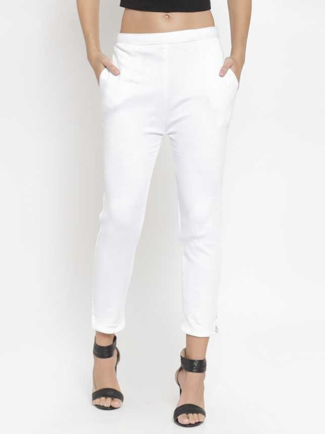 Clora Creation Regular Fit Women White Trousers Buy Clora Creation Regular Fit Women White Trousers Online At Best Prices In India Flipkart Com There's no better feeling than owning a good pair of jeans with a great fit. flipkart