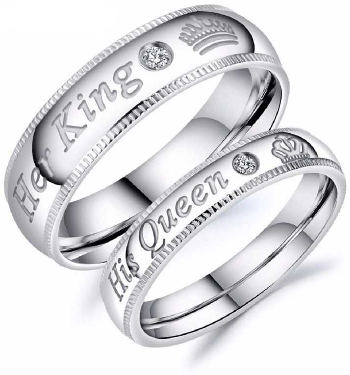 Shiv Jagdamba Her King His Queen Rhinestone Metal Couple Romantic