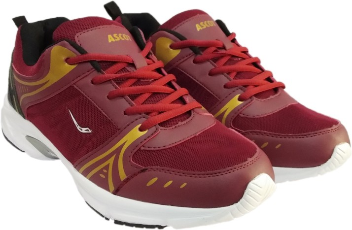 Ascot Stubby Athletic Running Shoes