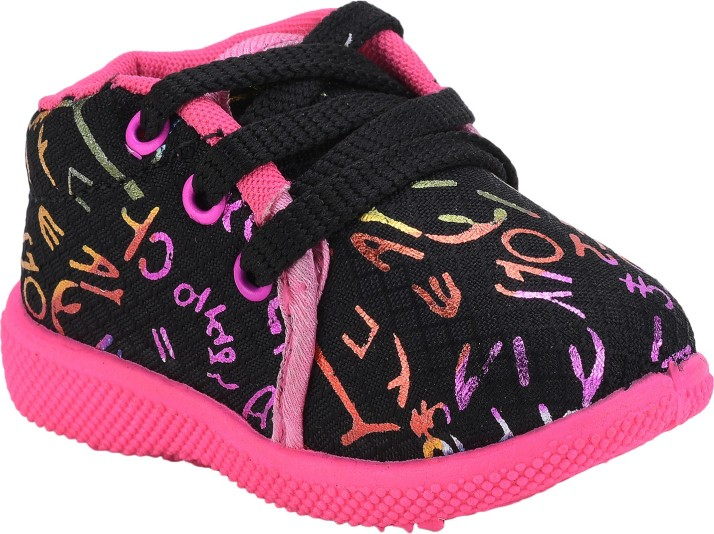 NEOBABY Boys \u0026 Girls Lace Casual Shoes