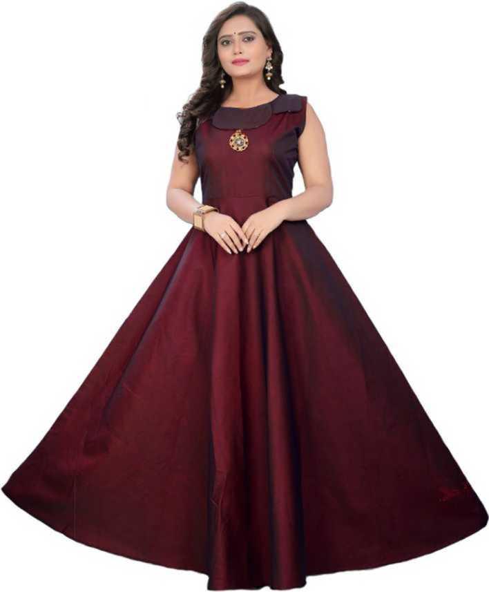 Fashion Ki Duniya Anarkali Gown Price In India Buy Fashion Ki Duniya Anarkali Gown Online At Flipkart Com
