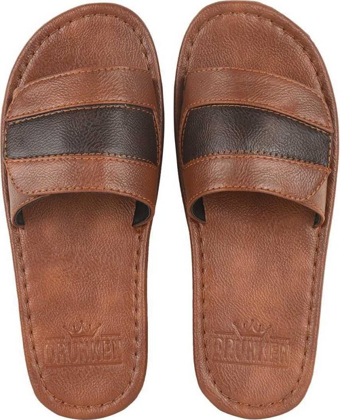 DRUNKEN Slippers For Mens, Slides