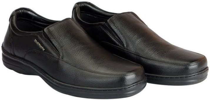 Leather Shoes Slip On For Men